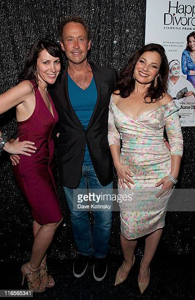 Lori Levine Fran Drescher and Peter Marc Jacobson attends the exclusive screening of TV Land's sitcom 'Happily Divorced' hosted by Fran Drescher at...