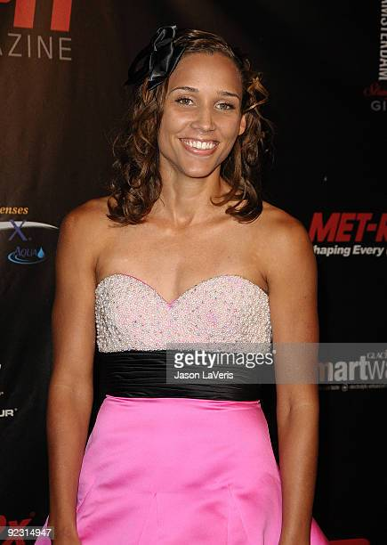 Lori Lolo Jones attends ESPN The Magazine's The Body Issue celebration at The London Hotel on October 19 2009 in West Hollywood California