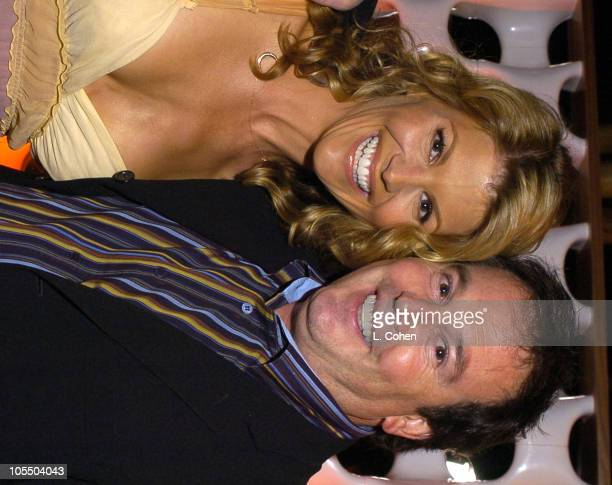 Lori Loughlin and David Janollari president of Entertainment WB