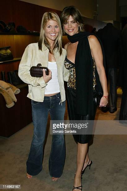 Lori Loughlin and Lisa Rinna during Bottega Veneta Benefit For PSArts And Moca's Apprentice Program at Bottega Veneta Store in Beverly Hills...