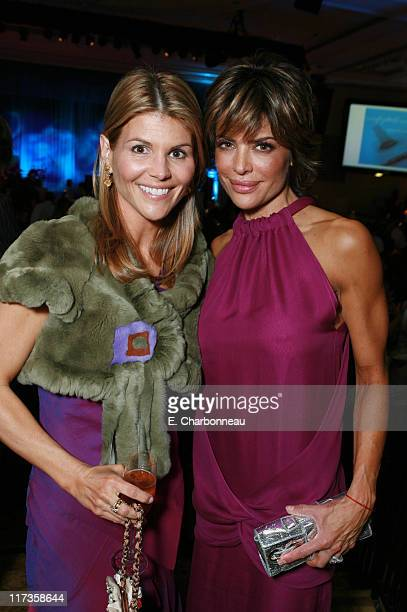 Lori Loughlin and Lisa Rinna during Saks Fifth Avenue's Unforgettable Evening Benefitting EIF's Women's Cancer Research Fund at Regent Beverly...