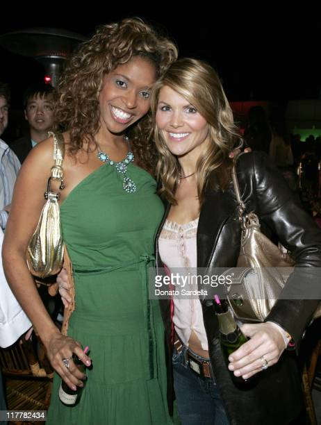 Lori Loughlin and Merrin Dungey during Hugo Boss Fall Winter 2005 Men's and Women's Collections Party Inside at Beverly Hills Hotel in Beverly Hills...