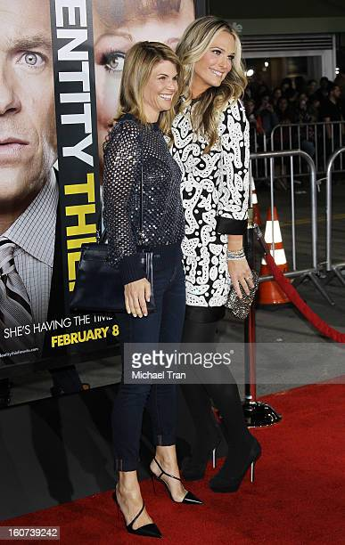 """Lori Loughlin and Molly Sims arrive at the Los Angeles premiere of """"Identity Thief"""" held at Mann Village Theatre on February 4, 2013 in Westwood,..."""