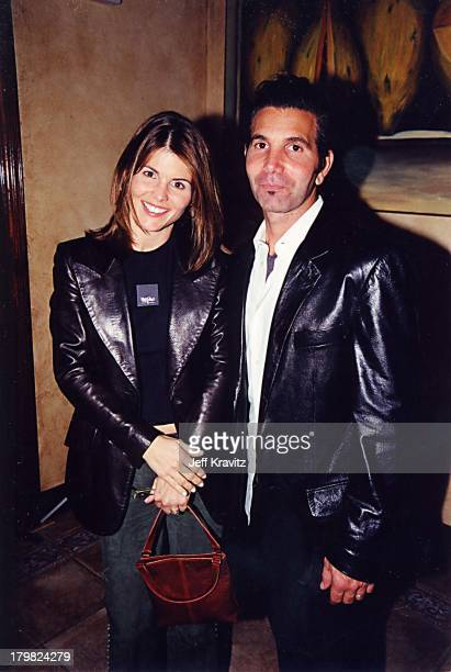 Lori Loughlin and Mossimo Giannulli during GQ Party 2000 at Sunset Room in Los Angeles California United States