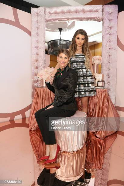 Lori Loughlin and Olivia Jade Giannulli celebrate the Olivia Jade X Sephora Collection Palette Collaboration Launching Online at Sephoracom on...