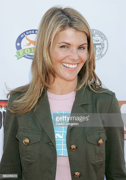 Lori Loughlin arrives at the Dogswell Dog Treats Presents The Fourth Annual Much Love Animal Rescue Bow Wow Ween on October 30 2005 in Brentwood Los...