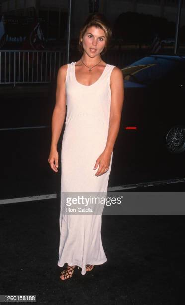 Lori Loughlin attends ABC Affiliates Dinner at the Century Plaza Hotel in Century City, California on June 10, 1993.