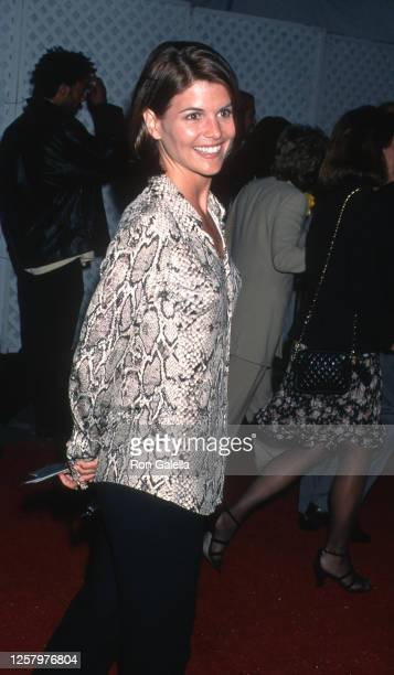 """Lori Loughlin attends """"Mission Impossible"""" Premiere at Mann Bruin Theater in Westwood, California on May 20, 1996."""