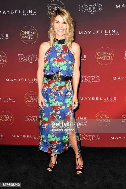 Lori Loughlin attends People's 'Ones To Watch' at NeueHouse Hollywood on October 4 2017 in Los Angeles California