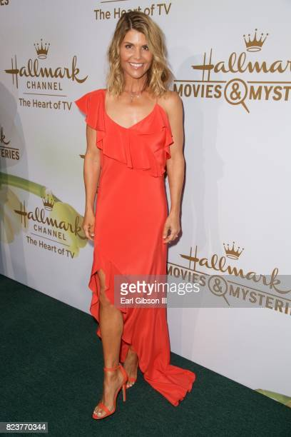 Lori Loughlin attends the 2017 TCA TourHallmark Channel And Hallmark Movies and Mysteries at a private residence at on July 27 2017 in Beverly Hills...
