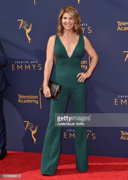 Lori Loughlin attends the 2018 Creative Arts Emmy Awards at Microsoft Theater on September 8 2018 in Los Angeles California