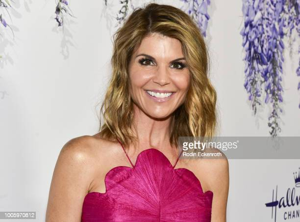 Lori Loughlin attends the 2018 Hallmark Channel Summer TCA at a private residence on July 26 2018 in Beverly Hills California