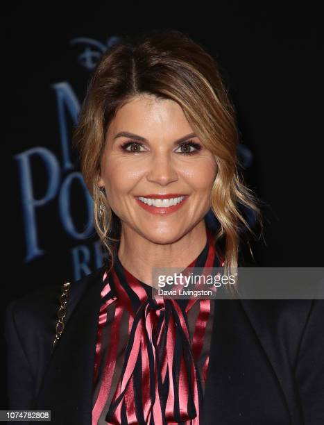 Lori Loughlin attends the premiere of Disney's Mary Poppins Returns at the El Capitan Theatre on November 29 2018 in Los Angeles California
