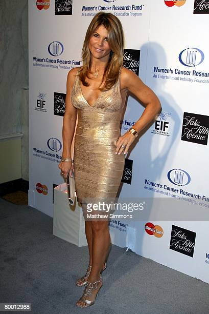 Lori Loughlin attends the Saks Fifth Avenue Unforgettable Evening at the Beverly Wilshire Hotel on February 20 2008 in Beverly Hills California