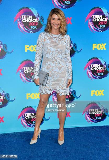 Lori Loughlin attends the Teen Choice Awards 2017 at Galen Center on August 13 2017 in Los Angeles California