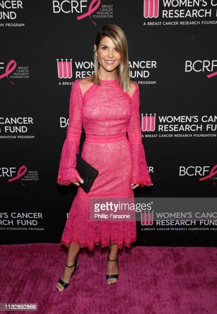 Lori Loughlin attends The Women's Cancer Research Fund's An Unforgettable Evening Benefit Gala at the Beverly Wilshire Four Seasons Hotel on February...