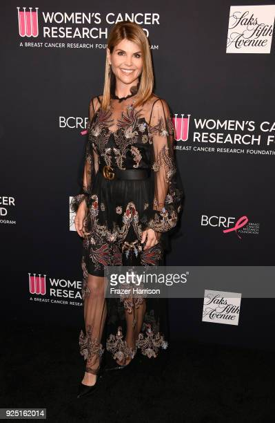 Lori Loughlin attends WCRF's An Unforgettable Evening at the Beverly Wilshire Four Seasons Hotel on February 27 2018 in Beverly Hills California