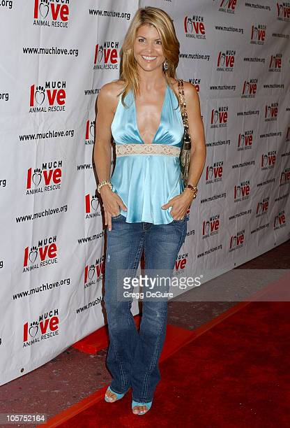 Lori Loughlin during 4th Annual Much Love Animal Rescue Celebrity Comedy Benefit Arrivals at The Laugh Factory in Hollywood California United States