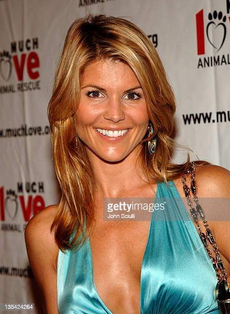Lori Loughlin during 4th Annual Much Love Animal Rescue Celebrity Comedy Benefit Red Carpet at The Laugh Factory in Los Angeles California United...