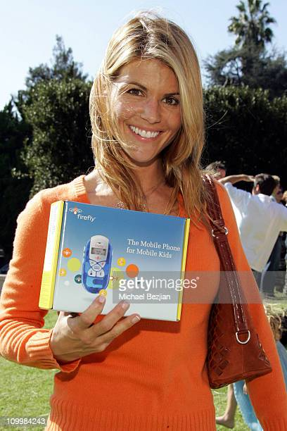 Lori Loughlin during Firefly and Clothes Off Your Back Trick or Treat Hosted by Jane Kaczmarek and Bradley Whitford at Wattles Mansion in Hollywood...