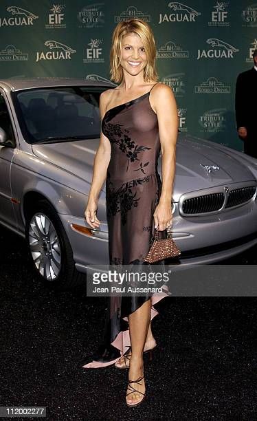 Lori Loughlin during 'Jaguar's Tribute to Style on Rodeo Drive' Benefit at Rodeo Drive in Beverly Hills California United States
