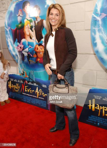 Lori Loughlin during Los Angeles Premiere of LionsGate's 'Happily N'Ever After' Hosted by the Hot Moms Club at The Mann Festival Theater in Westwood...