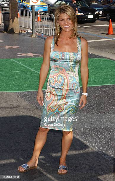 Lori Loughlin during New York Minute World Premiere Arrivals at Grauman's Chinese in Hollywood California United States