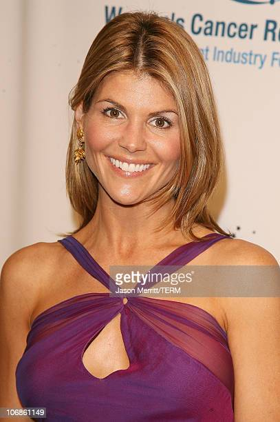 Lori Loughlin during Saks Fifth Avenue's Unforgettable Evening Benefit for EIF's Women's Cancer Research Fund Arrivals at Regent Bevery Wilshire...