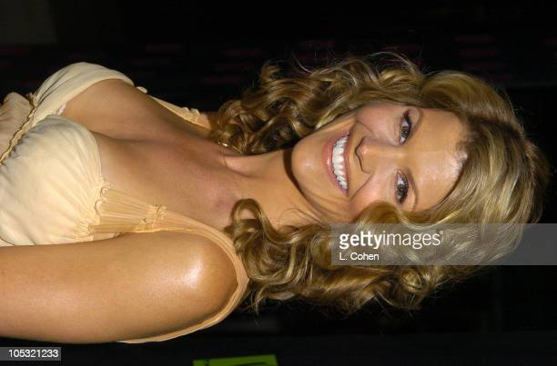Lori Loughlin during The WB Network's 2004 All Star Party Red Carpet Party at The Lounge At Astra West in Los Angeles California United States