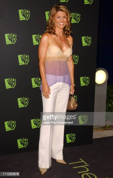Lori Loughlin during The WB Network's 2004 All Star Summer Party Arrivals at The Lounge at Astra West in Los Angeles California United States