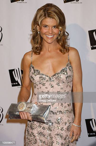 Lori Loughlin during The WB Television Network's 2005 All Star Party Arrivals at Warner Bros Studio in Burbank California United States