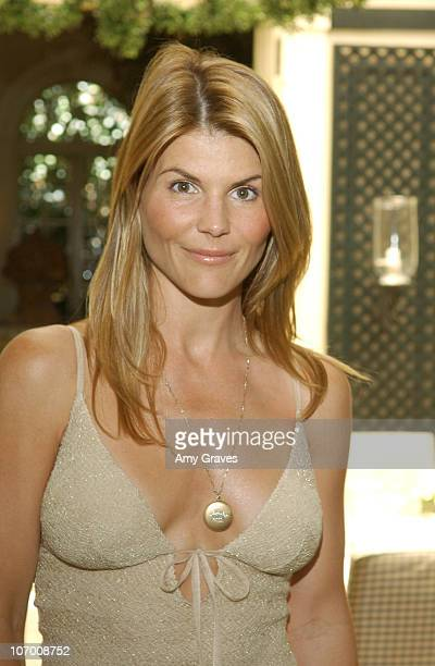 Lori Loughlin during Unlocked Secret Luncheon at L'Orangerie in Beverly Hills CA United States