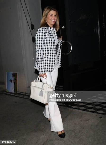 Lori Loughlin is seen on June 14 2018 in Los Angeles California
