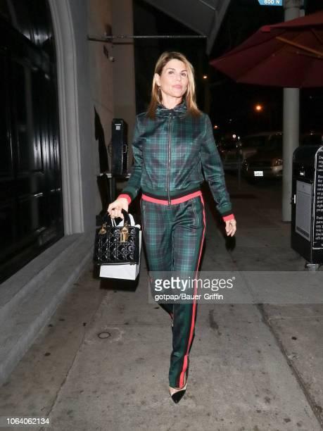 Lori Loughlin is seen on November 20 2018 in Los Angeles California