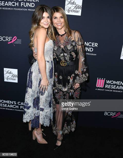Lori Loughlin Isabella Rose Giannulli arrives at the The Women's Cancer Research Fund's An Unforgettable Evening Benefit Gala at the Beverly Wilshire...