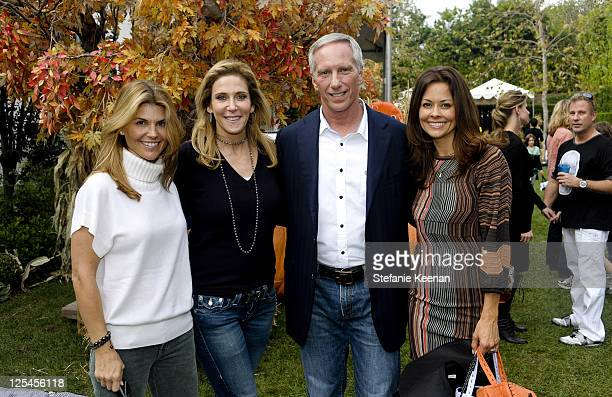 Lori Loughlin Janet Crown Steven Robinson and Brooke Burke attend Halloween Carnival Presented By Pottery Barn Kids To Benefit Operation Smile at...