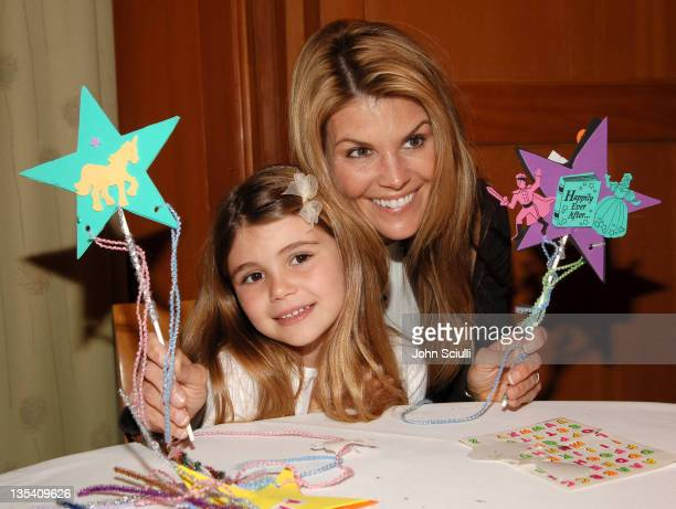 Lori Loughlin with her daughter Olivia during Los Angeles Premiere of LionsGate's 'Happily N'Ever After' Hosted by the Hot Moms Club at The Mann...