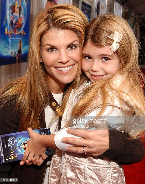 Lori Loughlin with her daughter Olivia