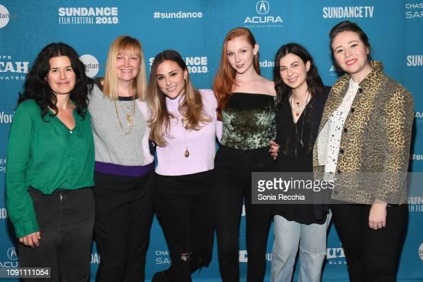 Lori LovoyGoran Lindsay Lanzillotta Kate Krieger Chandler Lovelle Deniz Gumustas and Willa Yudell attend the Indie Episodic Program 2 during the 2019...