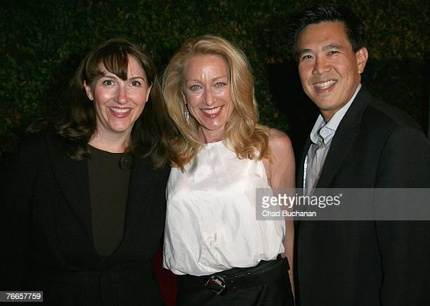 Lori MacPherson actress Patricia Wettig and Gordon Ho evp worldwide marketing and product management Walt Disney Studios Home Entertainment attend...