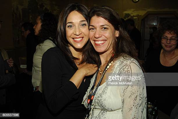 Lori Marshall and Amy Glickman attend Afterparty for The Miramax Films screening of KEEPING UP WITH THE STEINS at Barney Greengrass on May 2 2006 in...