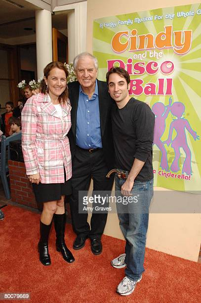 Lori Marshall Director/Falcon Theatre Founder Garry Marshall and Director Joseph Leo Buarie attend Cindy and the Disco Ball Premiere at the Falcon...