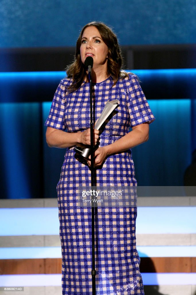 Lori McKenna accepts the Songwriter of the Year Award onstage during
