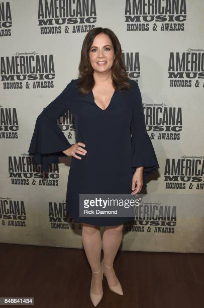 Lori McKenna attends the 2017 Americana Music Association Honors Awards on September 13 2017 in Nashville Tennessee