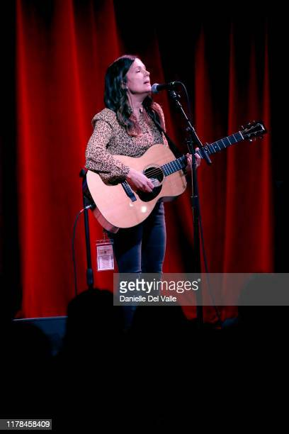 Lori McKenna performs onstage at City Winery Nashville on October 01 2019 in Nashville Tennessee
