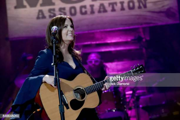 Lori McKenna performs onstage during the 2017 Americana Music Association Honors Awards on September 13 2017 in Nashville Tennessee