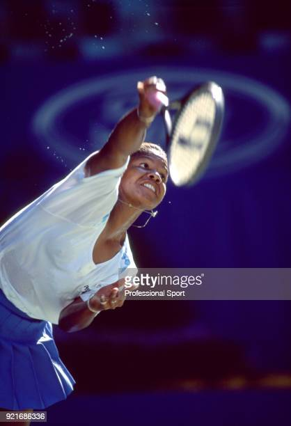 Lori McNeil of the USA in action during the Australian Open Tennis Championships at Flinders Park in Melbourne Australia circa January 1995