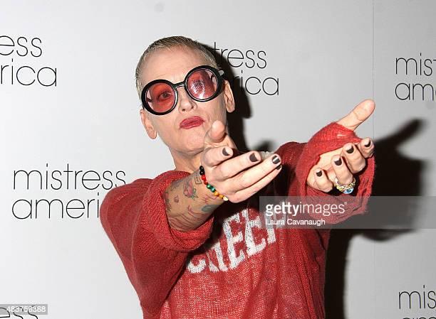 Lori Petty attends the Mistress America New York Premiere at Landmark Sunshine Cinema on August 12 2015 in New York City