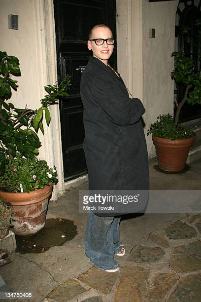 Lori Petty during Opening Night of August Wilson's Play Fences at Pasadena Playhouse in Pasadena California United States