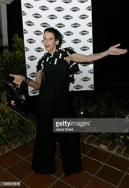 Lori Petty during Outfest Celebrates Gay Hollywood at The home of Paul Colichman in Bel Air California United States